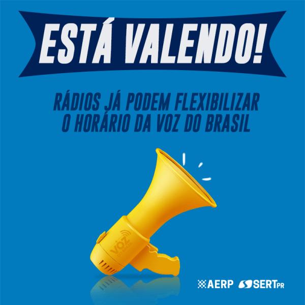 Rádios estão autorizadas a flexibilizar o horário da Voz do Brasil